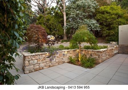 Basket Range Sandstone Sawn Wallers 160mm and 80mm + Natural Capping    Stonework By: JKB Landscaping - 0413 594 955    #landscape   #landscapedesign   #landscapearchitecture   #basketrangesandstone   #stone   #retainingwall