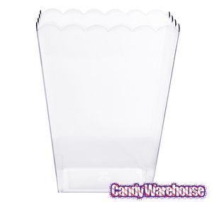Just found Clear Plastic Popcorn Style Candy Container - Large @CandyWarehouse, Thanks for the #CandyAssist!