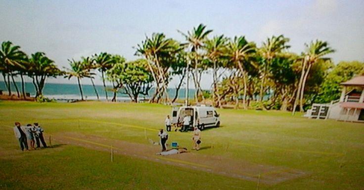 Death in Paradise starring Kristen Marshall, Danny John - Jules, Don Warrington, Gary Carr, Ben Miller, Tobi Bakare, Josephine Jobert, Sally Bretton,