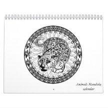 DIY mandala calendar 2016