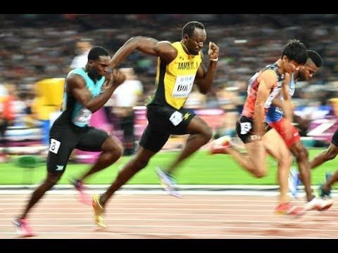 World's fastest man this year out for Usain Bolt's World Championships 1...