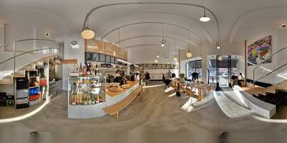 Virtual tour of EMA espresso bar