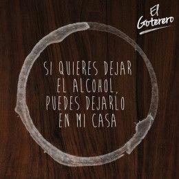 dejar alcohol licorera El Goterero