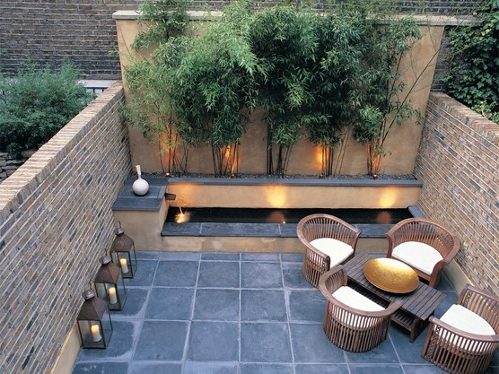 Ideas for when we install the garden walls for the newly excavated space in our backyard.