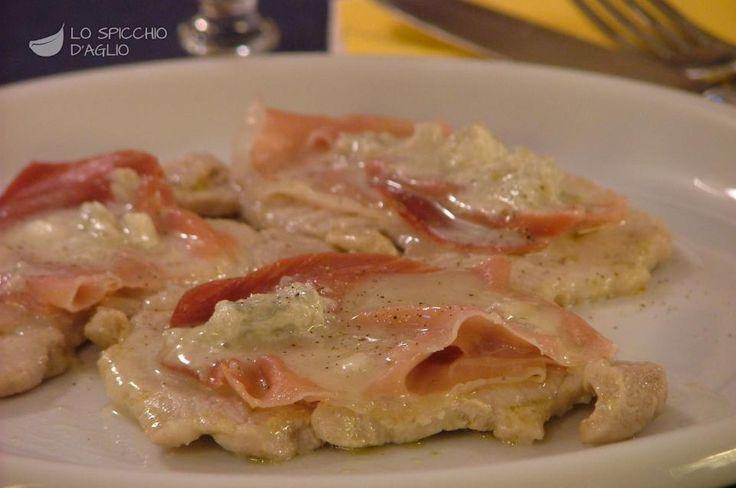 Foto della ricetta: Scaloppine speck e gorgonzola