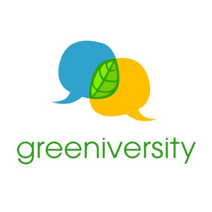 Logo Design Examples: Greeniversity    freethinkingdesign.co.uk