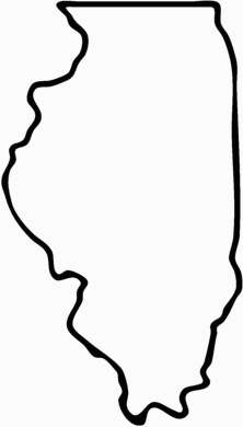 Illinois tattoo thinking about getting an il tattoo now for State outline tattoo