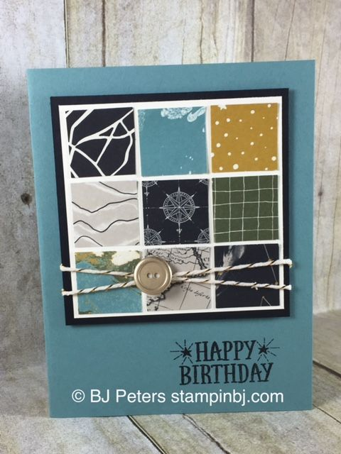 Easy Masculine Card that would work for most any occasion