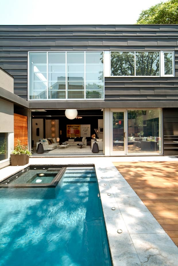 The Yorkville Residence By Taylor Smyth Architects Pool And Deck