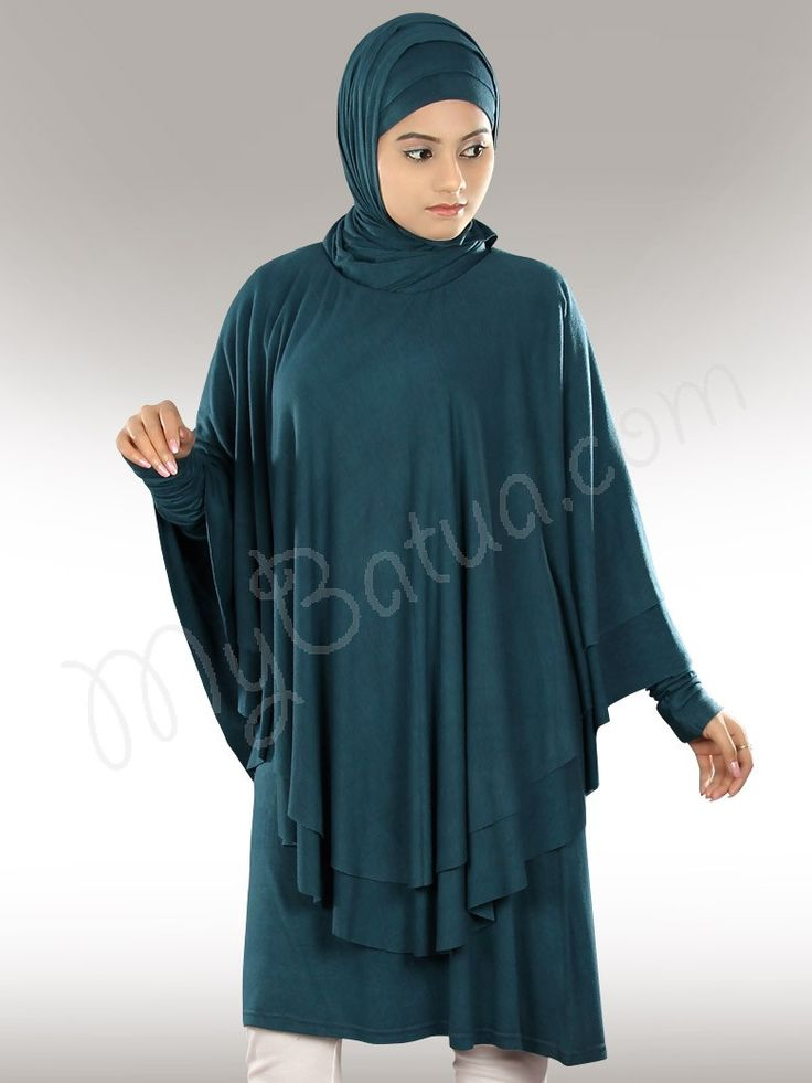 Beautiful Gathered Teal Party Wear Farhana Jersey Tunic | MyBatua.com Style No : KRF-100 Price : $86.00 Available Sizes XS to 7XL