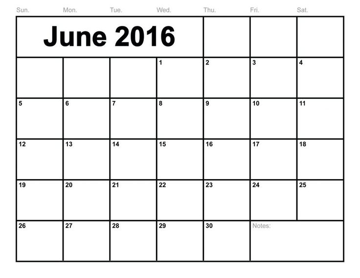 9 best images about Printable Calendar Templates – Blank Monthly Calendar Template Word