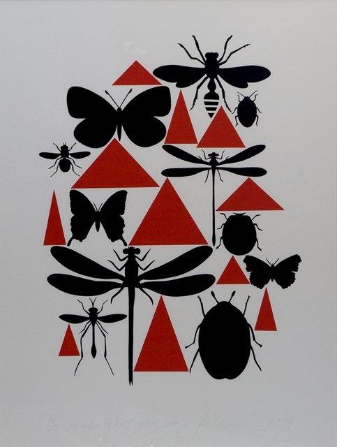 Elements: Shape, Colour, Tone, Mark, Pattern, Form. Principles: Composition, Perspective, Balance.