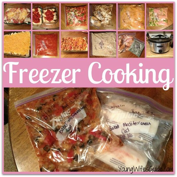 How to Plan, a Freezer Cooking Day in 7 Easy Steps