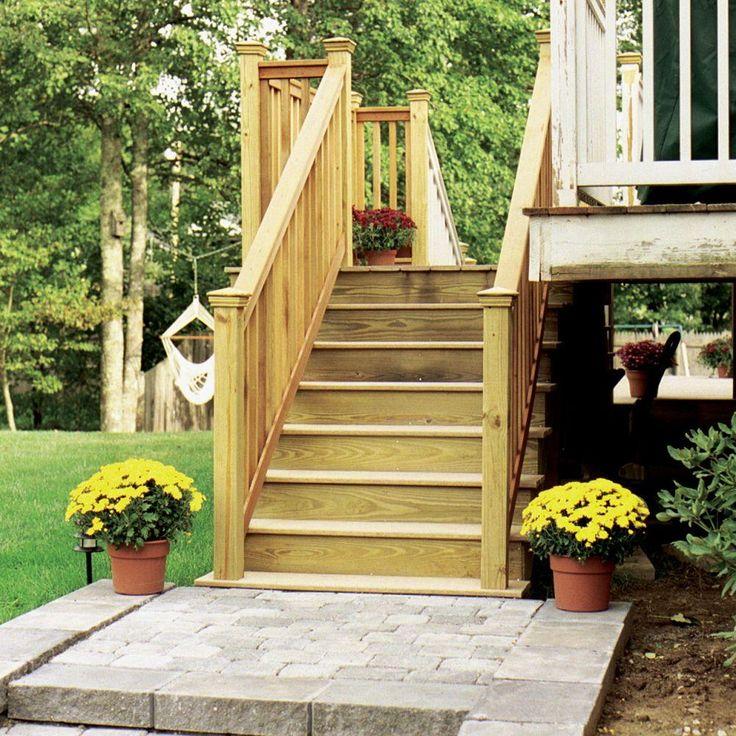 Best Null 5 Step Pressure Treated Pine Stair Stringer Tree 400 x 300
