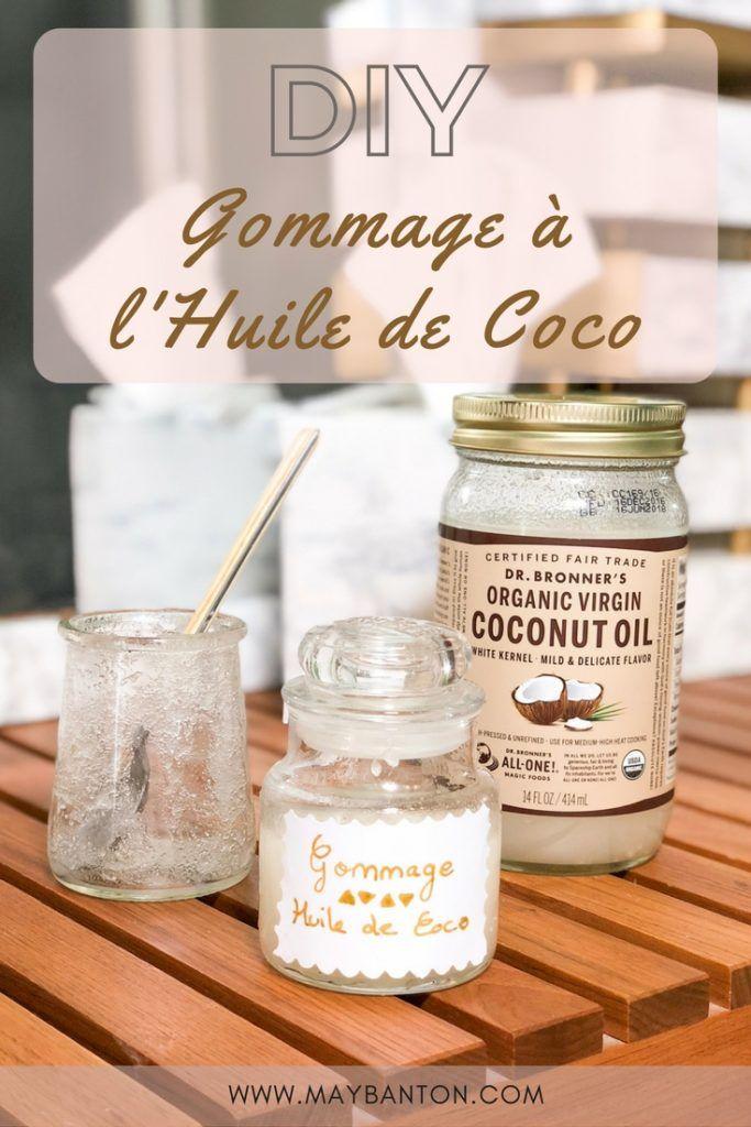 DIY: Gommage à l'huile de coco.