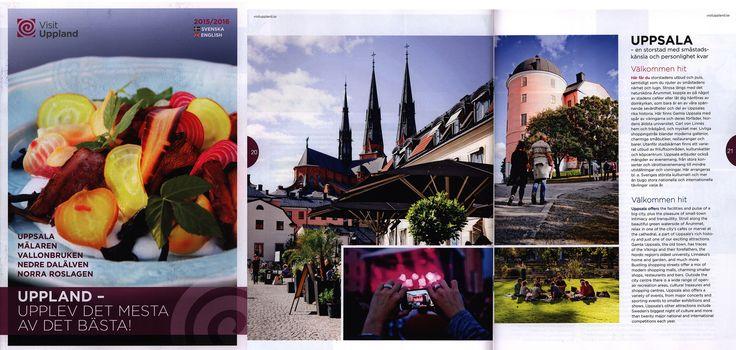 https://flic.kr/p/Lic5yL | Visit Uppland  svenska english 2015/2016;  Uppland - Upplev det mesta av det basta! Sweden