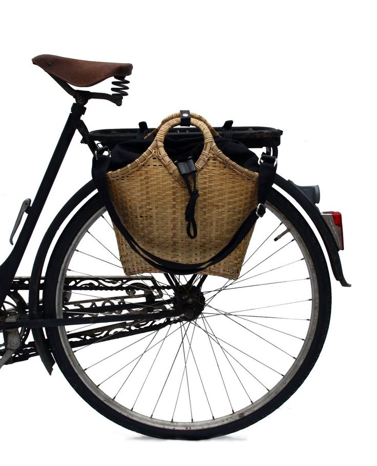 Pako bicycle bag & the Black bag