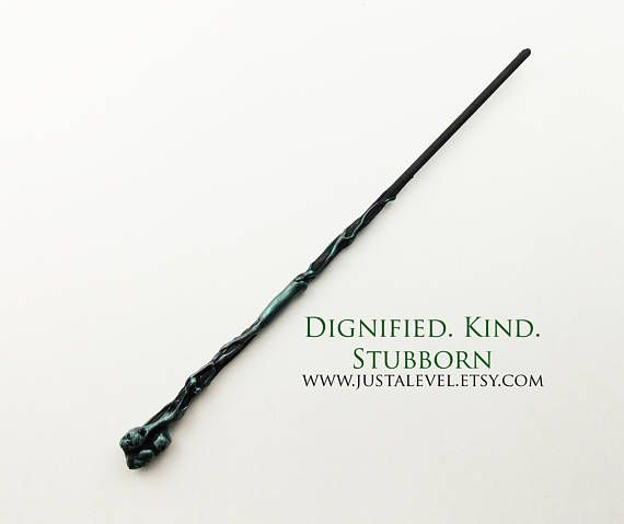 Rigor Mortis Dark Personalized Wand for Original Characters