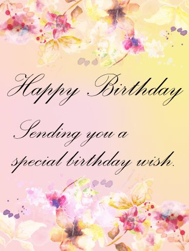 18 best flower birthday cards images on pinterest happy birthday send free graceful flower birthday card to loved ones on birthday greeting cards by davia bookmarktalkfo Choice Image