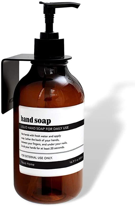Maisonovo Hand Soap Dispenser Wall, Soap Dispenser For Bathroom Wall Mounted