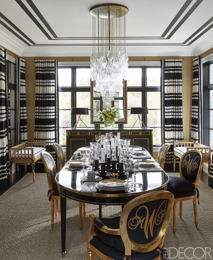 Dining Rooms From Elle Decor: 18 Best Images About Inspired