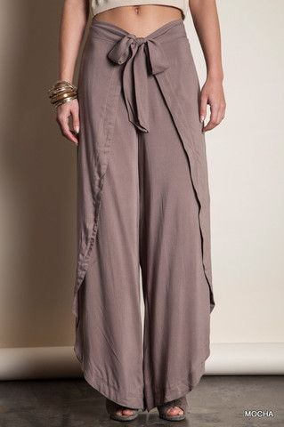 Wrap Me Up Pants – Bourbon and Grits Boutique