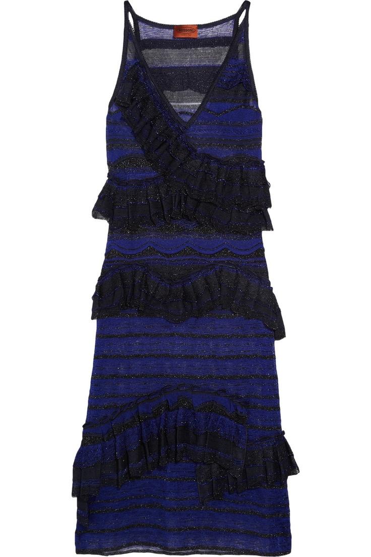 MISSONI  Essenza crochet-knit dress