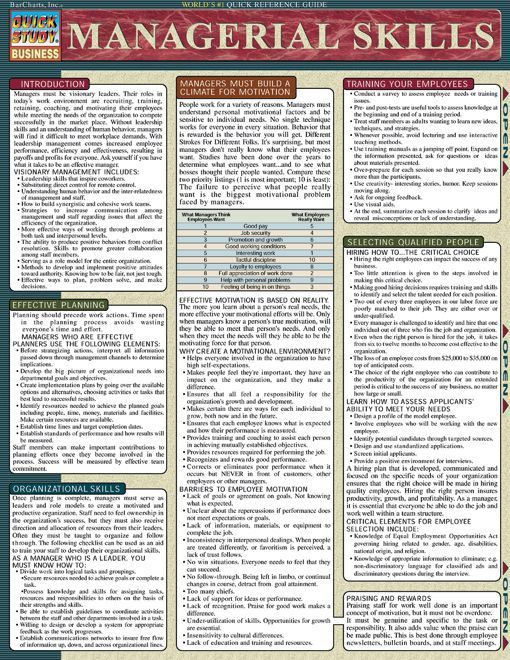 Managerial Skills.Download this review guide and improve your grades. #education…