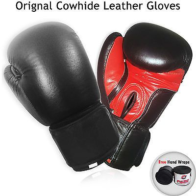 #Boxing #gloves cow hide #leather fma training punch bag fight #gloves mma muay th,  View more on the LINK: http://www.zeppy.io/product/gb/2/111677996222/