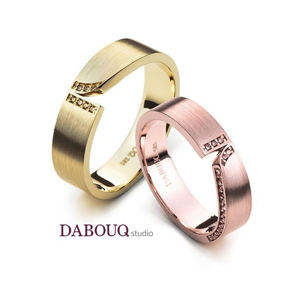 Dabouq Studio Couple Ring - DR0017 - Simple+ #DABOUQ #Jewelry #쥬얼리 #CoupleRing #커플링 #ProposeRing #프로포즈링 #프로포즈반지 #반지 #결혼반지 #Dai반지 #Diamond #Wedding_Ring #Wedding_Band #Gold #White_Gold #Pink_Gold #Rose_Gold