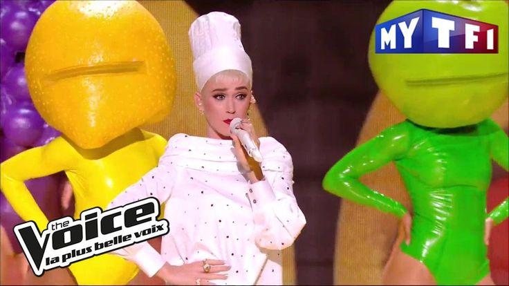 Katy Perry - « Bon Appétit »   The Voice France 2017   Live