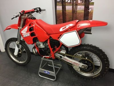 1989 Honda CR250 - East Coast Vintage MX