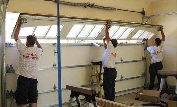 Tips to Consider When Replacing Broken Garage Door Spring #Garage door repairs