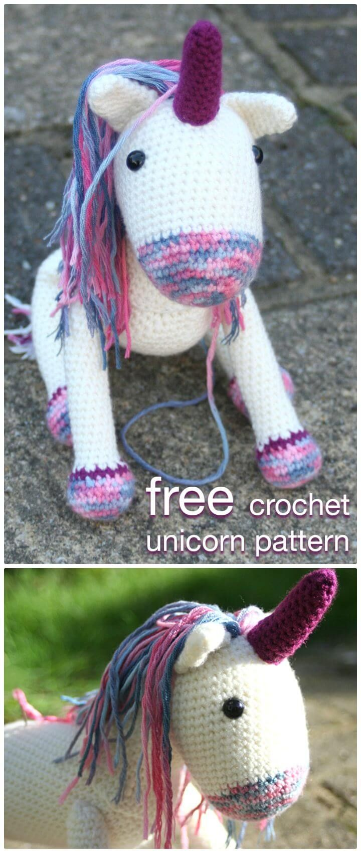 Crochet Unicorn Pattern 32 Free Crochet Patterns Unicorn Pattern