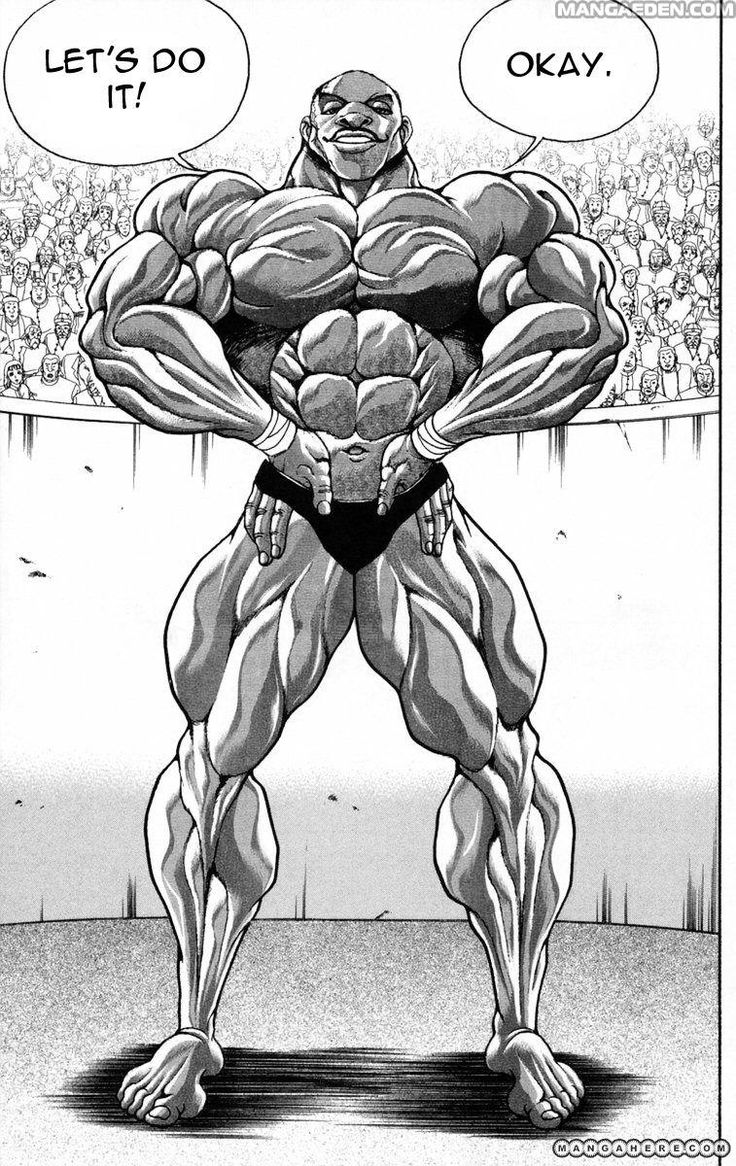 New grappler Baki Baki 2018