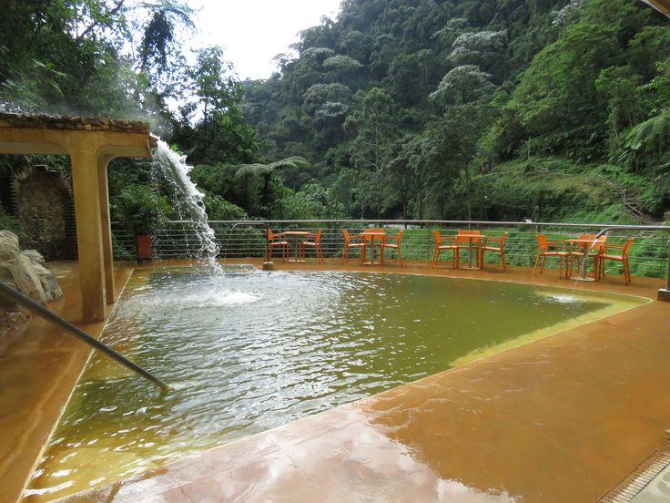 Piscinas de Aguas Termales exclusivas para nuestros huéspedes en Termales Santa Rosa de Cabal