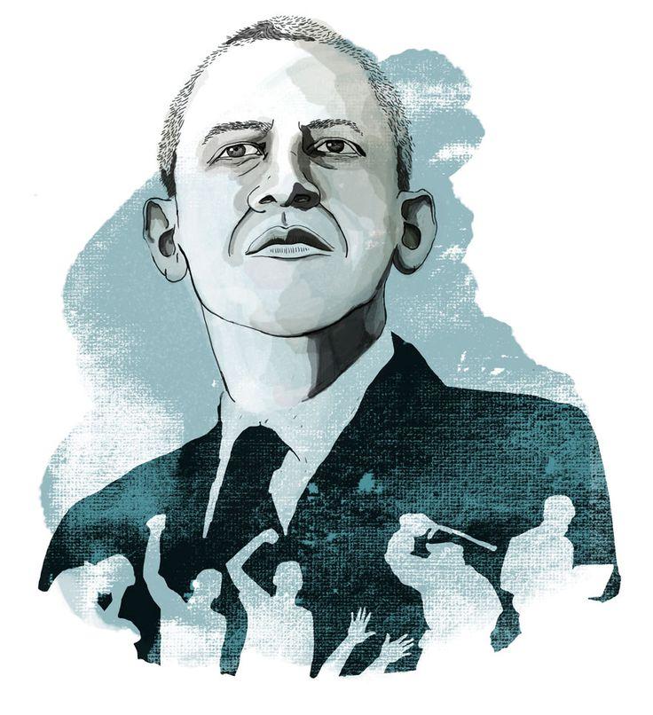 Illustration for Amnesty Magazine by Eeva Meltio.