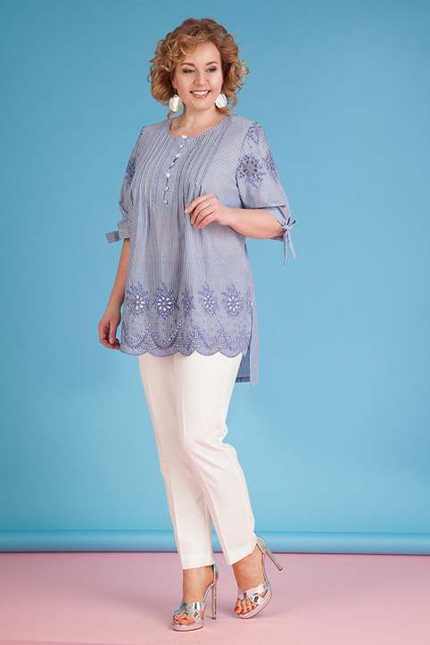 e8b69ff4447c Коллекция женской одежды больших размеров белорусского бренда Liliana  весна-лето 2018
