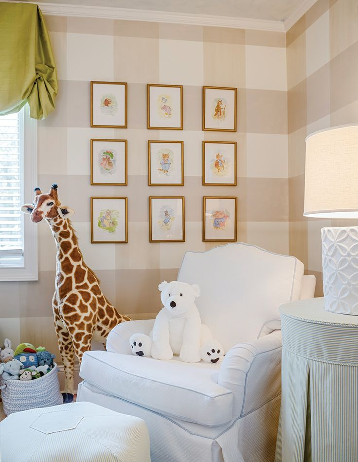 Emily McCarthy's playful nursery. Photo by Beau