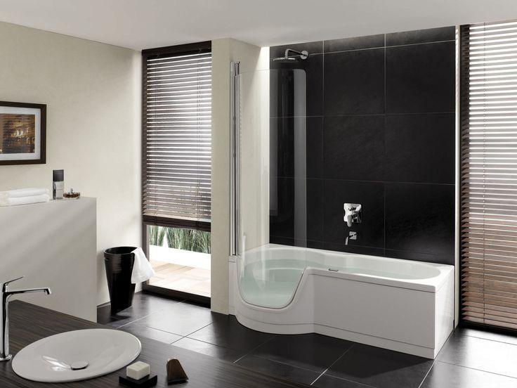 Gorgeous Small Bathroom Design With Pleasant Bathtub Shower Combo   Small  Bathroom Designs With Shower, Bathroom Tub Ideas,