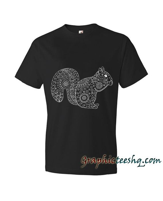 Funny Squirrel Tee Shirt