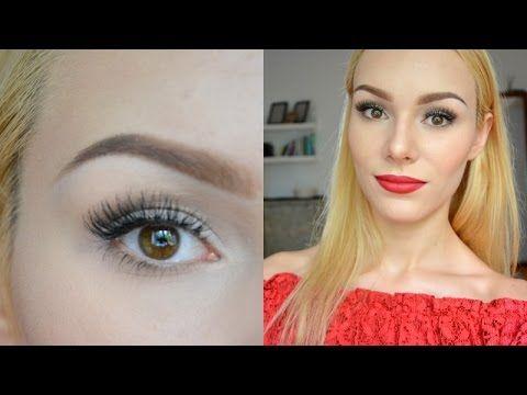 ✺ MALOWANIE BRWI / JAK MALOWAĆ BRWI ? / AQUA BROW ✺ EMILIA JUREK ✺ - YouTube