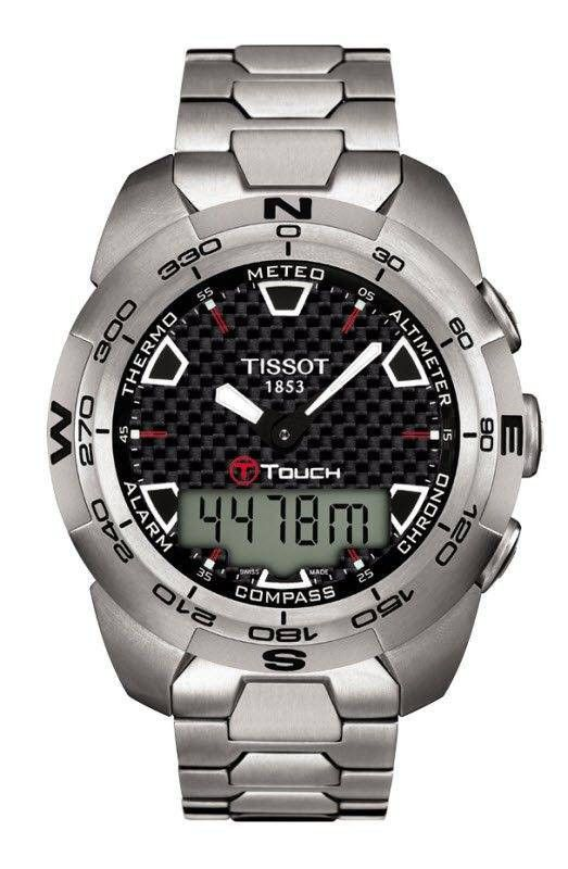 Tissot Watch T-Touch Expert Titanium #bezel-fixed #bracelet-strap-titanium #brand-tissot #case-depth-14-6mm #case-material-titanium #case-width-43-6mm #delivery-timescale-7-10-days #dial-colour-black #gender-mens #luxury #movement-quartz-battery #official-stockist-for-tissot-watches #packaging-tissot-watch-packaging #selling-rank-1 #style-sports #subcat-touch-collection #supplier-model-no-t0134204420100 #warranty-tissot-official-2-year-guarantee #water-resistant-100m