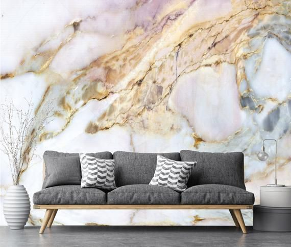 White Pink Silver Gold Marble Wallpaper Wall Sticker Decor Ceiling Wall Mural Self Adhesive Exclusive Design Photo Wallpaper Gold Marble Wallpaper Vinyl Wallpaper Marble Wallpaper