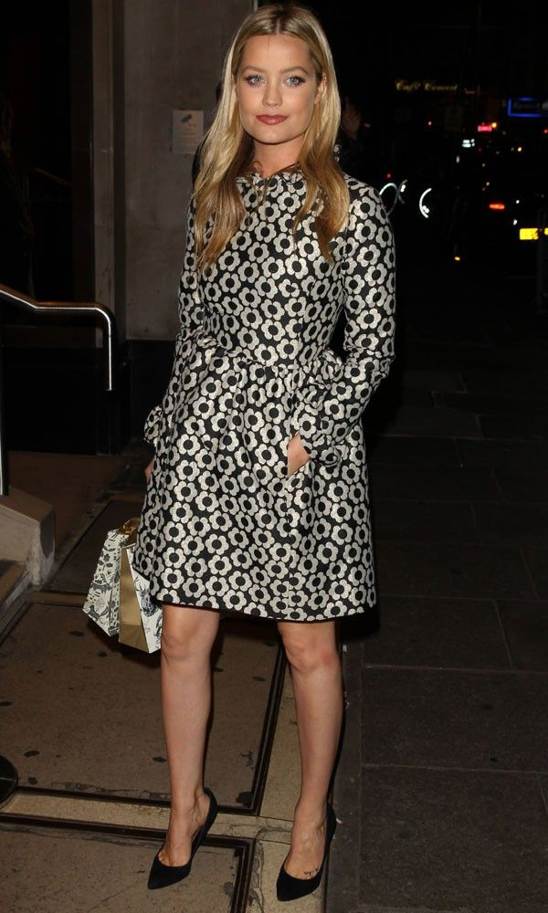 Laura Whitmore Does Winter Florals