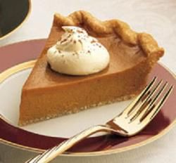 Pumpkin Pie, it is pumpkin based sweet and bit of garam masala flavoured pie you can also serve with sweet youghurt.