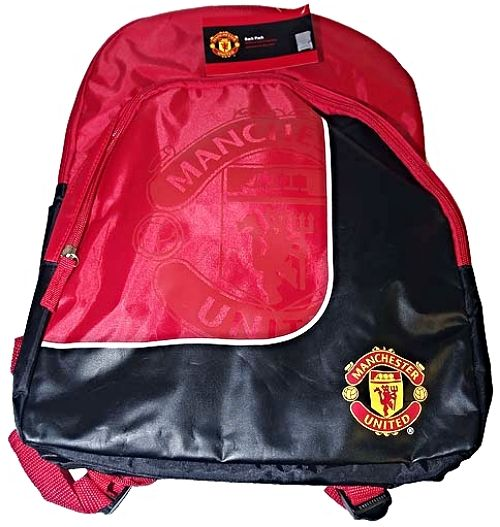 Manchester United Large Official Backpack New design with Club Crest