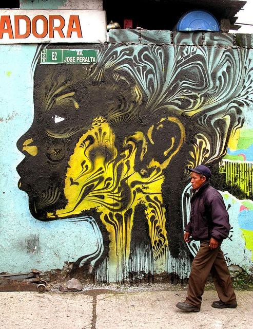 social change art in Bogota by Stinkfish