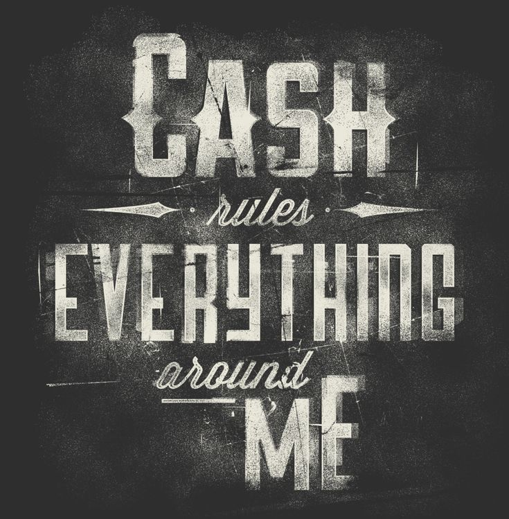 Design Inspiration, Chalk Letters, Motion Graphics, Johnny Cash, Types Treatments, Cream, Creative Artwork, Typography Inspiration, Cash Rules