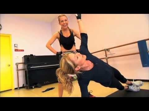 Get Ripped with @LIVE with Kelly and Michael trainer @AKT INMOTION @thekaisertweet